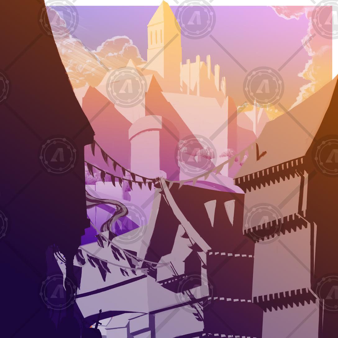 castles orange wm